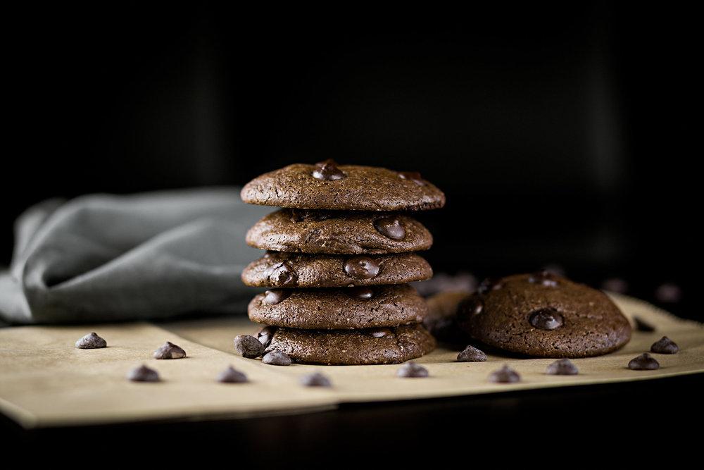 cookie de chocolate belga
