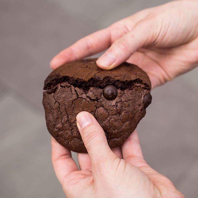 Domingos 🍪 #cookiebrownie #callebaut