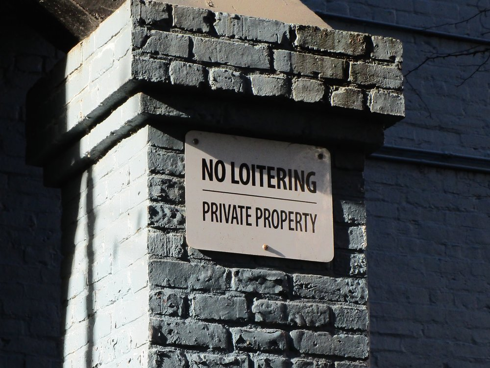 No Loitering in Odeon Alley - 1