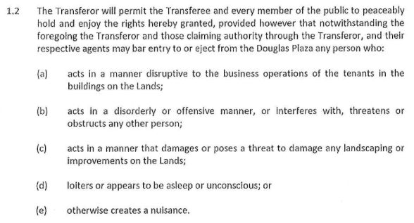 Image source:  Statutory Right of Way – Douglas Plaza  (p. 85; large file size)