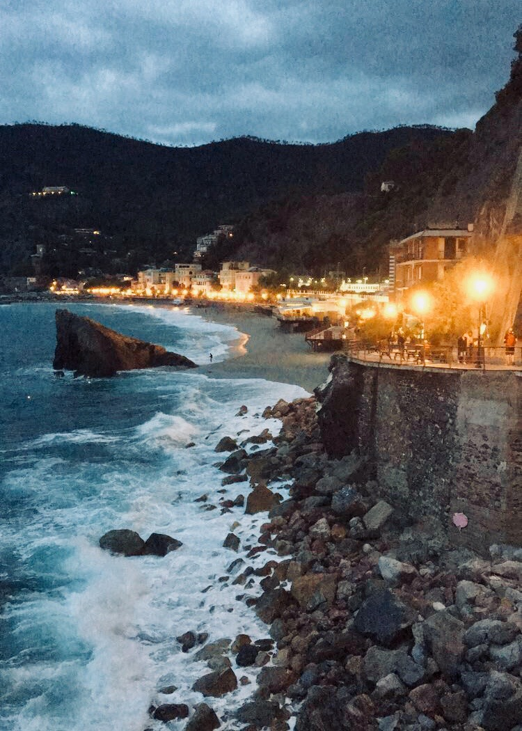 sunset at Monterosso