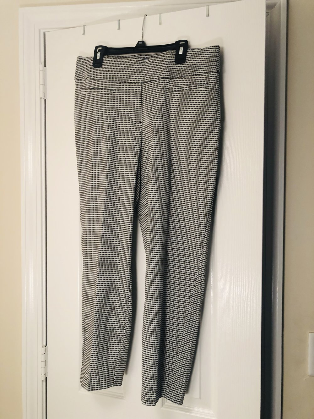 Black/White Dress Pants