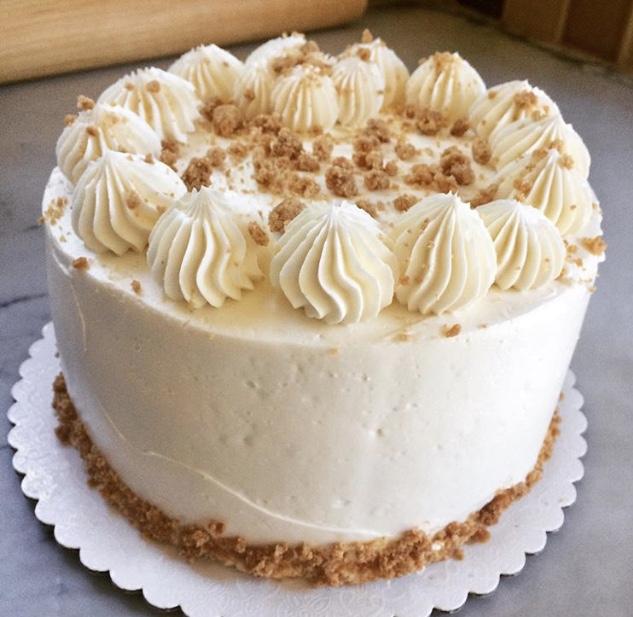 Brown Butter Graham Cake