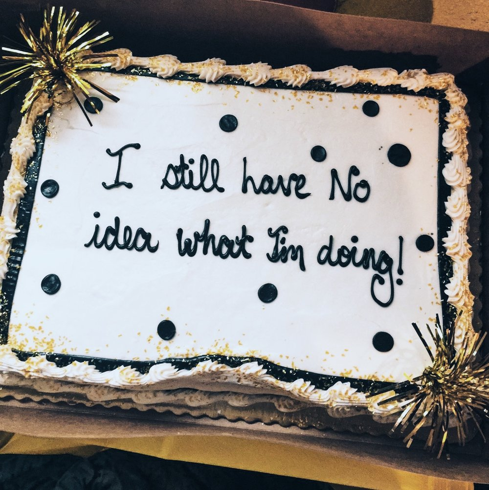My Sister Keala's College Graduation Cake