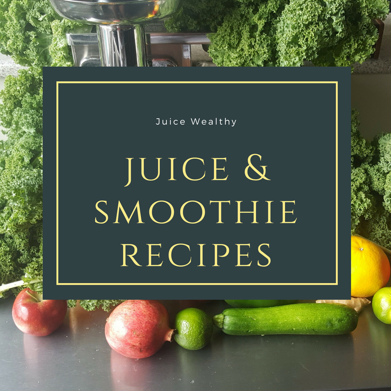 juice and smoothie recipes (juicewealthy,com)