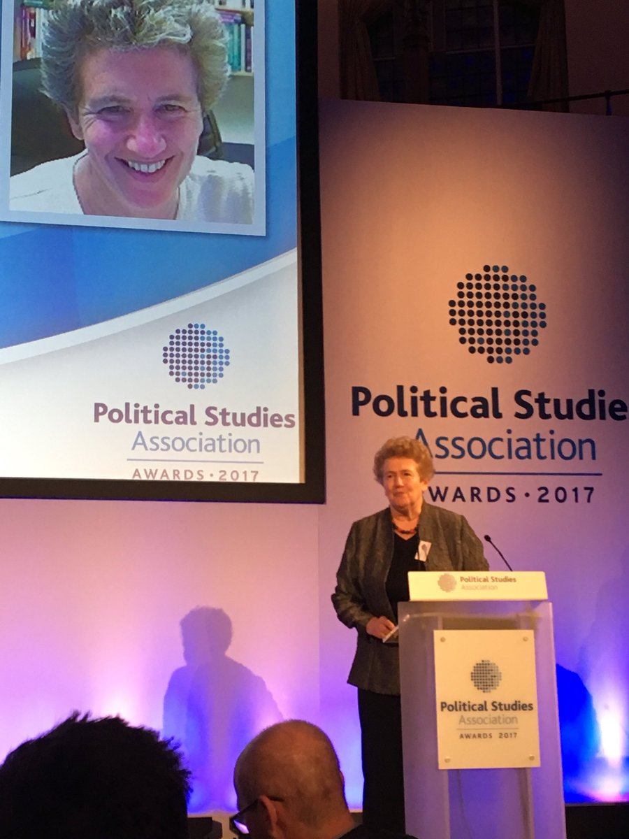 Pippa Norris, Church House, London for the 2017 PSA Awards
