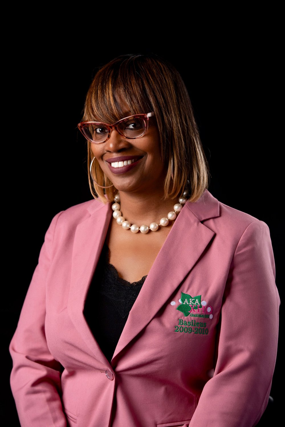 Lenisha Broadway: 3rd Chapter President, Charter Member