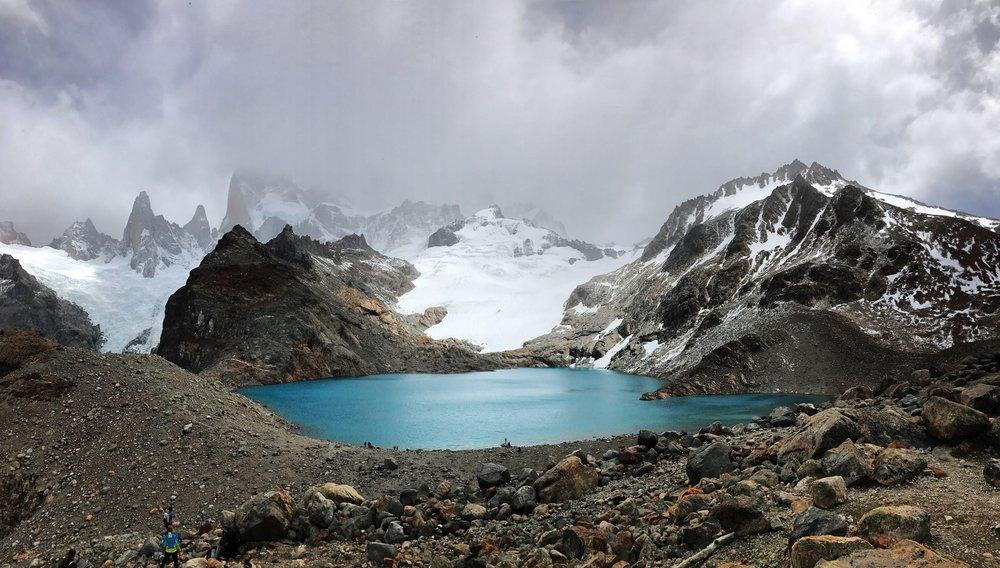 Laguna de los Tres, Argentina