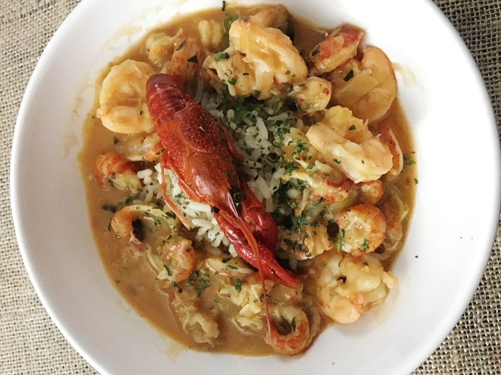 Etouffee with Shellfish
