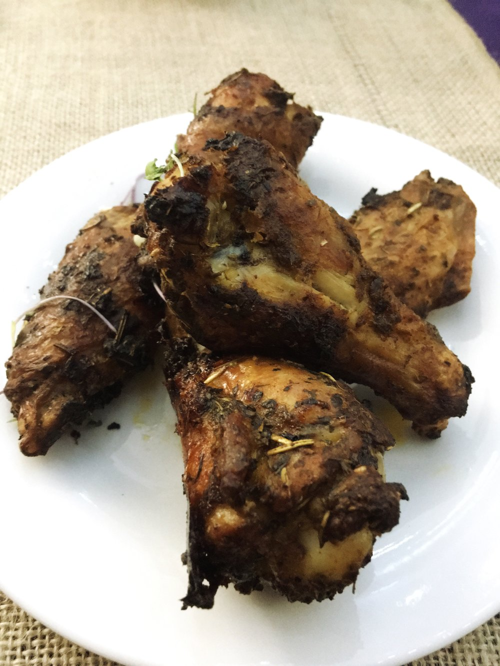 Mardi Gras Wings