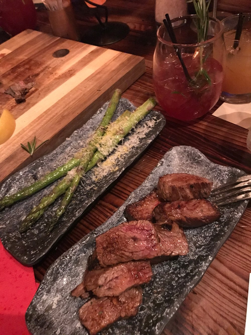 Asparagus & Steak