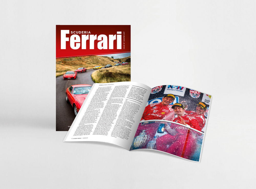 FERRARI OWNERS' CLUB OF NZ