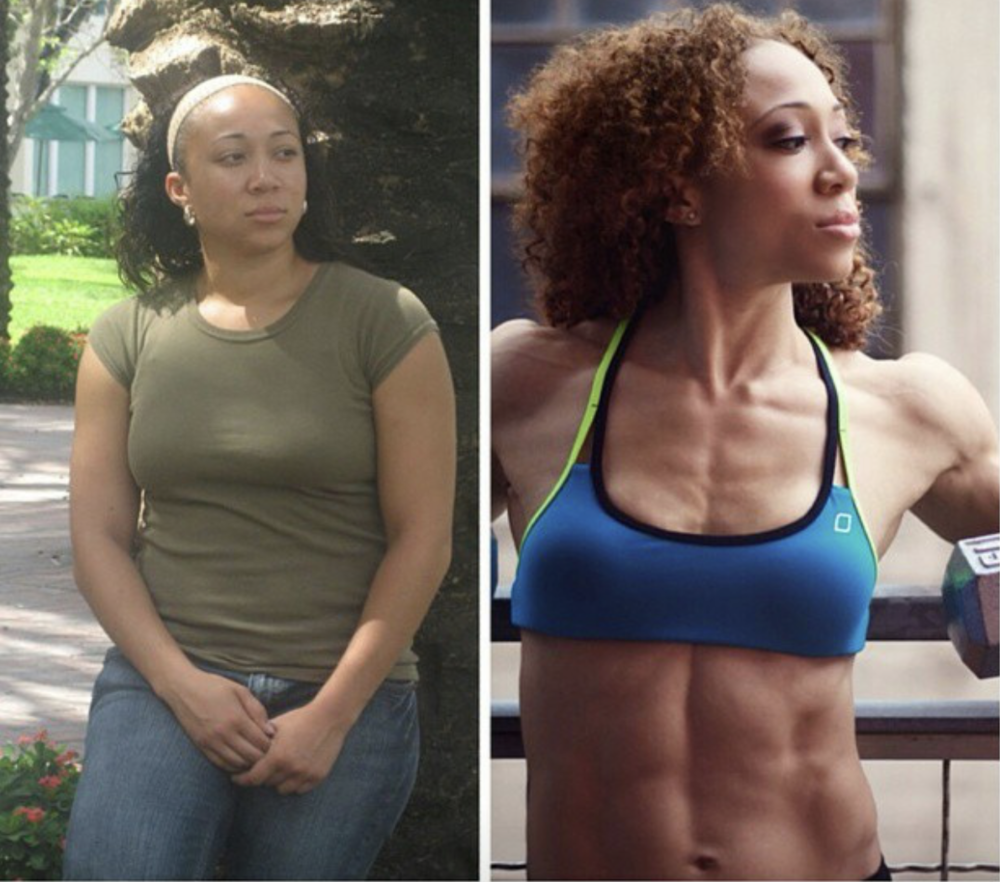 Mia Shante's Before and After - Strong 4 Pole