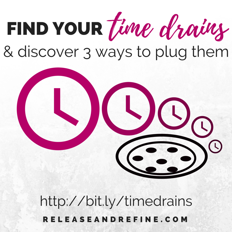 """Find Your Time Drains,"" a live webinar with Lynn Daue"