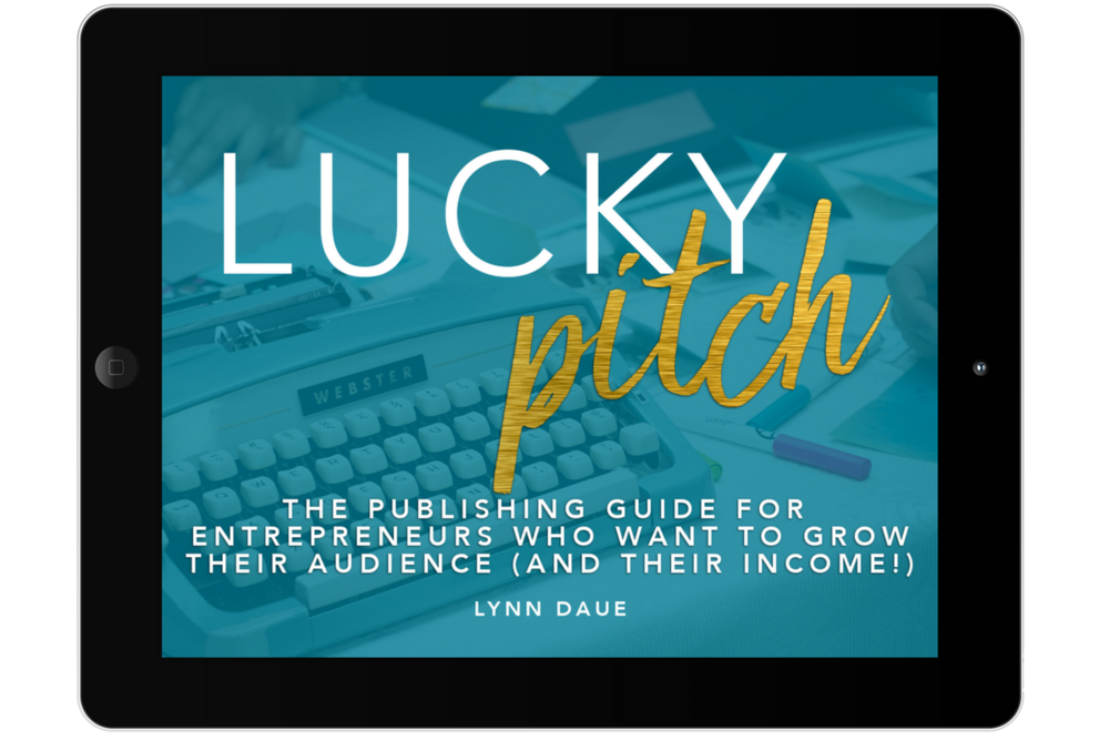 Hundreds of readers can't be wrong!  - Lucky Pitch, the international best-selling guide to growing your audience with guest contributions, is back and better than ever! With updated content and new resources, Lucky Pitch will help you show up like a pro so that you can start increasing your authority (and income potential) today.
