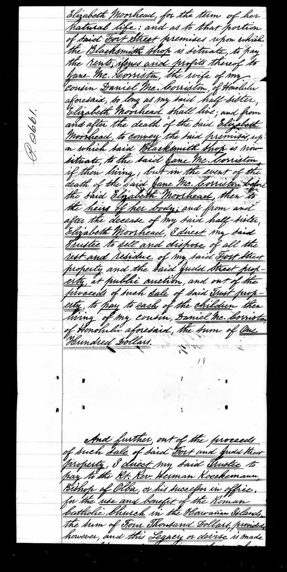 The Last Will and Testament of John McColgan, Page 4, 1890