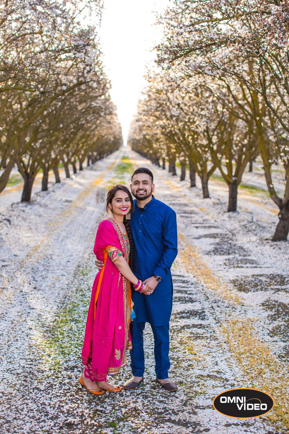 Sachdeep & Rupinder Engagement Photoshoot, Omni Video Blog