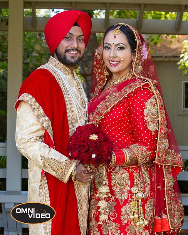 Happy Anniversary to Manjot & Harpreet from all of us at Omni Video! @omnivideousa www.omnivideousa.com
