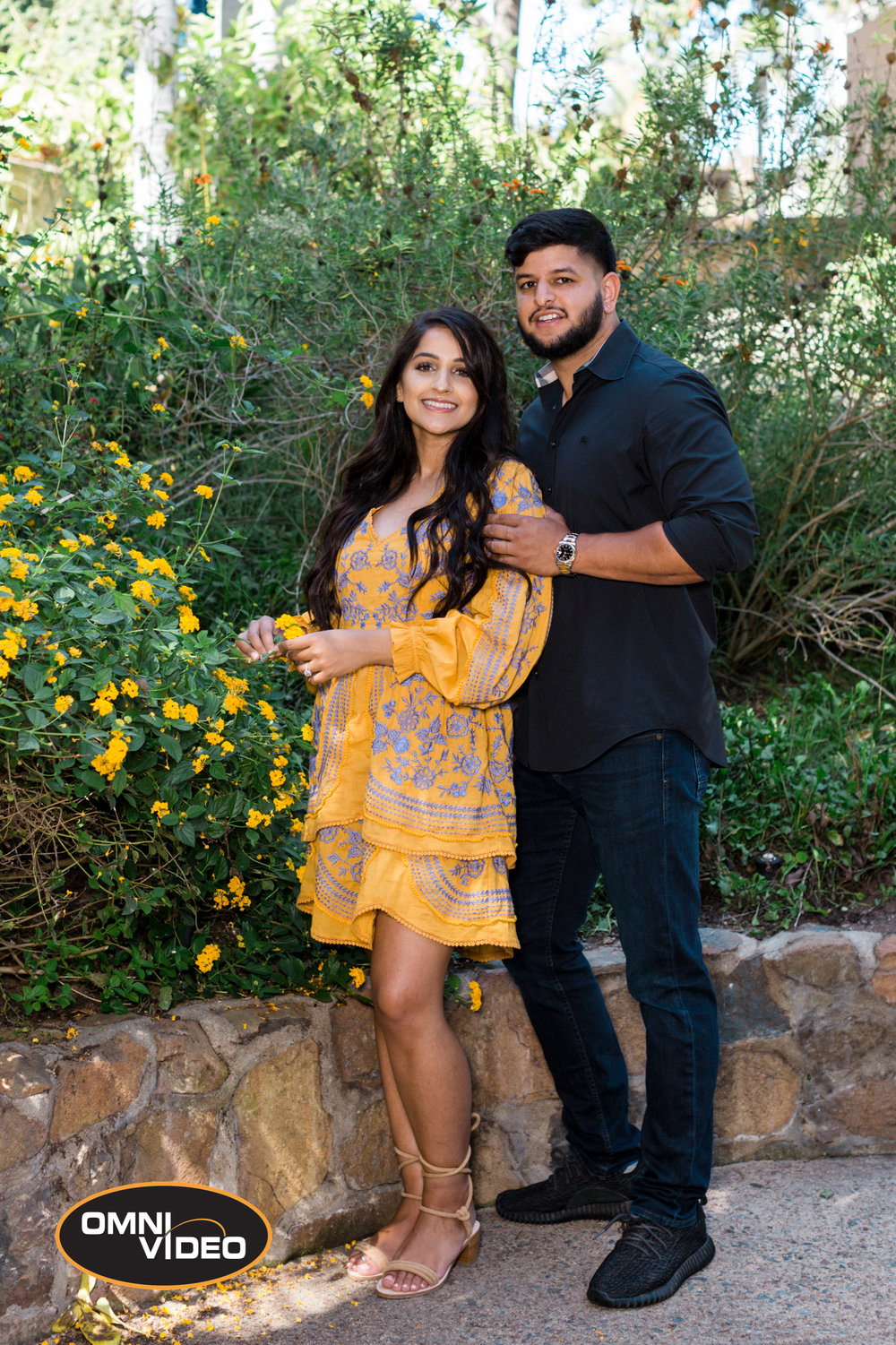 Yad & Raji's Engagement Photoshoot - Omni Video USA