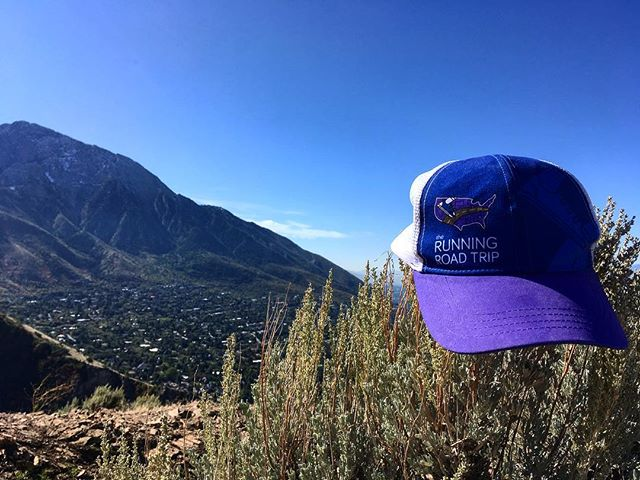 Ran the Pipeline Trail again in SLC which was our Utah run on the road trip! The four of us definitely miss some of these great runs we've done across the States... 💜 You can still donate through our website to Cure Alzheimer's Fund! Check it out here:  www.therunningroadtrip.org/take-action