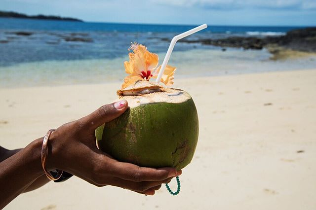 There's nothing like sun, sand and a fresh coconut with a straw to put a smile on your face. We took a trip to the stunning Barefoot Manta in Fiji's Yasawa Islands. Our Pacific Paradise image collection is on its way...... just as soon as we're back on home ground!! #justgoshoot #nikonphotography #Fijinow #nikon📷  #stocknotstock #bula #pacificparadise #yasawaislands #barefootmanta #pacificholiday #coconutwater #cocktailhour #lovetotravel #travelgram #fijiislands #fijistyle #SNSroadtrip #imagecollectioniscoming 🇫🇯🍸🍹🏝@barefoot_fiji