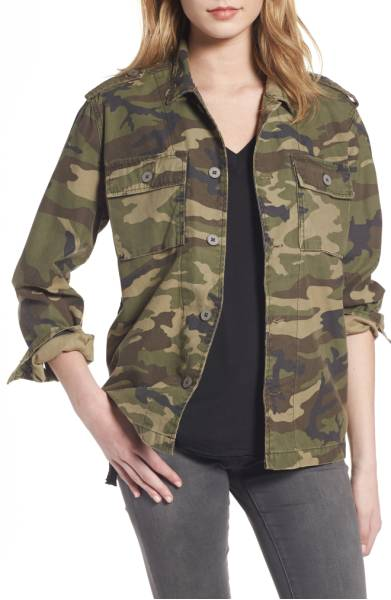 Thread & Supply Barton Camo Print Jacket