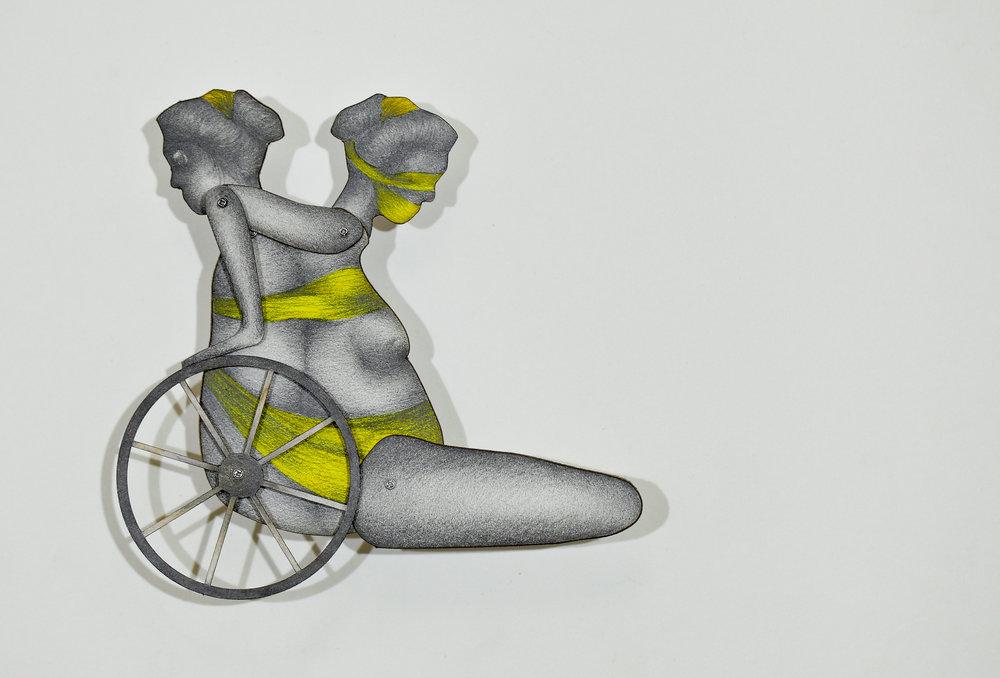 Paralyzed by Wheels