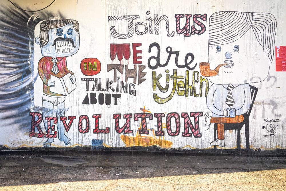 Tel Aviv graffiti, city walls, art