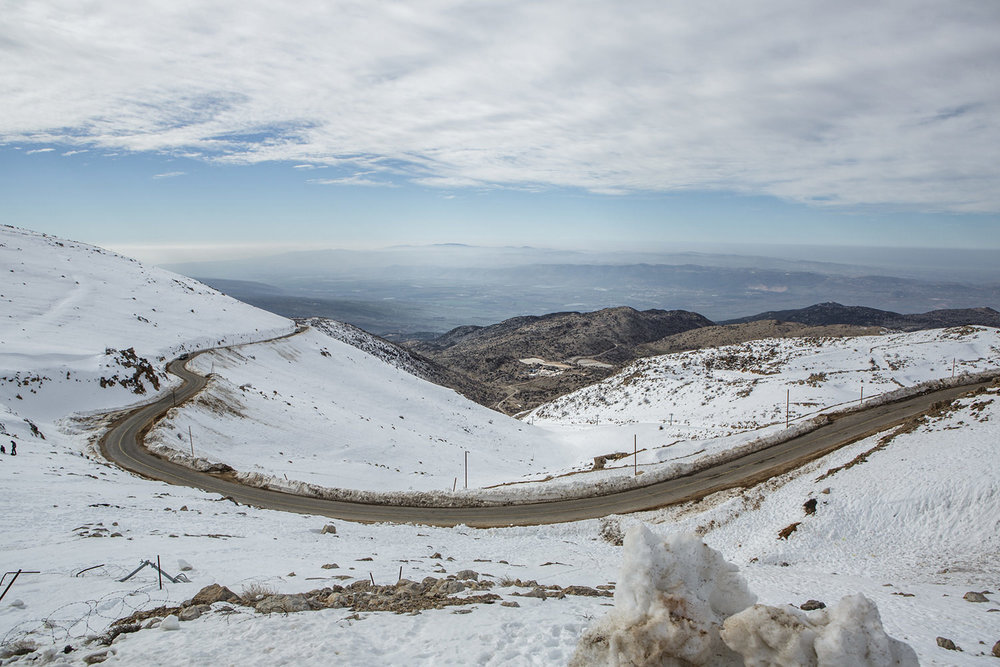 Hermon mountain, Golan, snow, winter, Israel, travel, the highest peak, winter