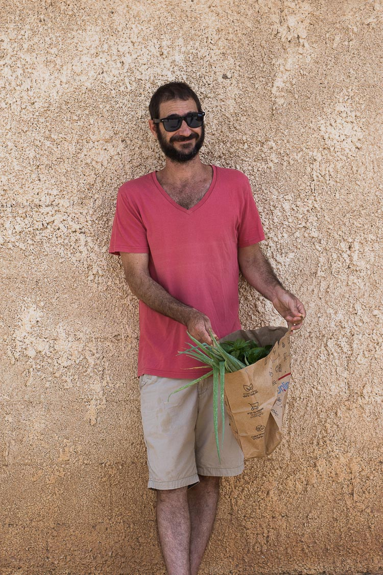 Roman Giler, Ovdey adama, Beit Hashita, organic produce