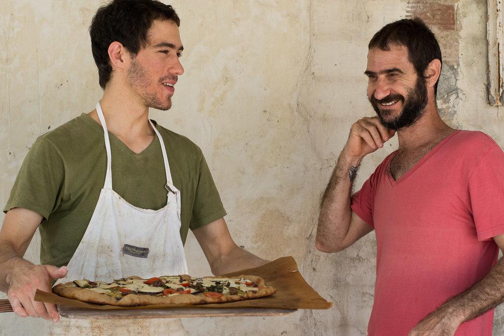 Roman Giler, Ovdey Adama, bakery, sourdough, bakers, out of the oven, Beit Hashita