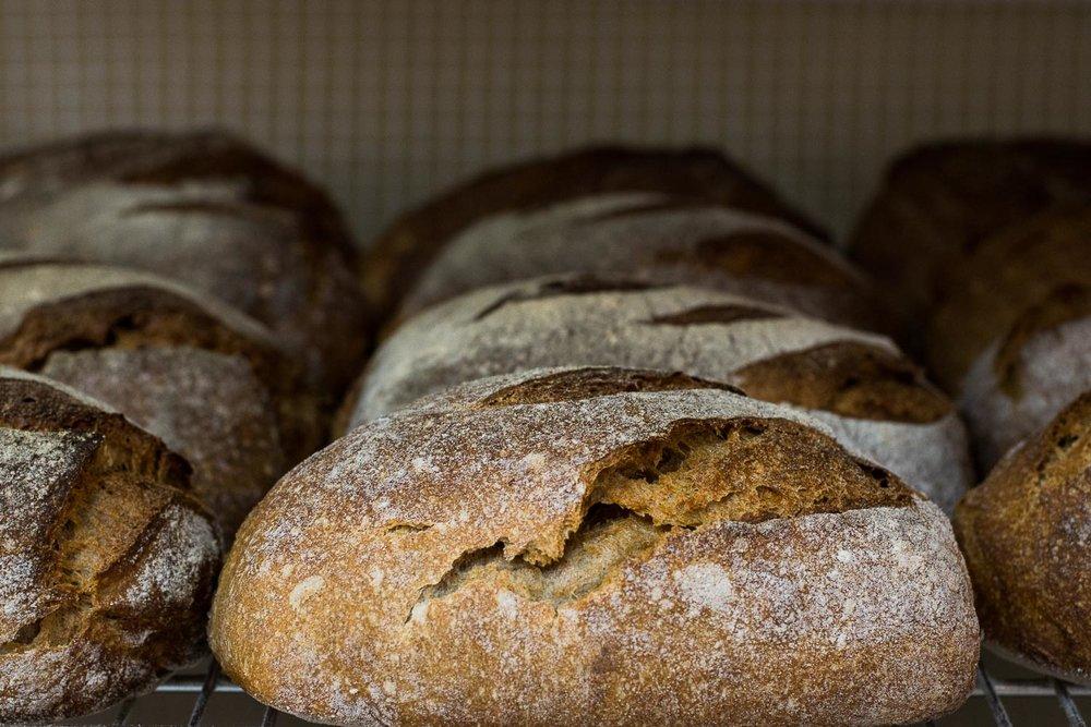 Roman Giler, Ovdey Adama, bakery, sourdough, bread, loaves, out of the oven, Beit Hashita