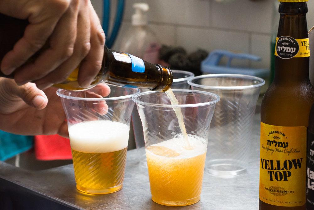Amalya brewery, microbrewery, fresh beer, bottle of beer, Arnon Enoch, Beit Alfa