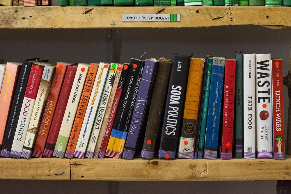 Neve Eitan, local leaders, food history, books