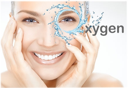 Oxygen Infusion Hydrating Facial   This specialized beauty treatment is designed to replenish the levels of oxygen in your skin, smoothing out wrinkles and restoring a youthful appearance to your face. Several celebrities tout the amazing benefits of oxygen facials. Madonna swears by them, and even Kate Middleton is rumored to have had an oxygen facial before the royal wedding.    Benefits Of Oxygen    In addition to being a relaxing way to pamper yourself, oxygen facials provide the following key benefits:  Promotes collagen production – The infusion of oxygen and vitamins into the skin encourages the production of collagen, which helps plump up facial features and restore volume and firmness to skin that has lost elasticity.  Helps detox the skin – Everyday toxins like air pollution and cigarette smoke rob the skin of much-needed oxygen. An oxygen facial helps reverse the effects of environmental pollutants and rejuvenates oxygen-starved skin.  Speeds cell turnover – Medical researchers believe that the infusion of oxygen into the skin may help the skin create new cells at a faster pace. This increased cell regeneration helps speed the healing of facial scars, acne and blemishes  No side effects- Unlike other more invasive anti-aging treatments like Botox or microdermabrasion, oxygen facials don't cause any uncomfortable side effects like stinging, burning or redness. The process of delivering the oxygen and serum is quite gentle, which makes oxygen facials suitable for individuals with sensitive skin and for those who would rather avoid injections or chemical treatments. After an oxygen facial, you can resume normal activities immediately, even applying makeup and using your normal facial products.