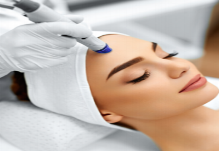 Microdermabrasion     A skin resurfacing treatment which utilizes a stream of micro-crystals projected onto the skin and then vacuumed away. Refresh your skin with this non-invasive skin resurfacing treatment. Outer layers of skin cells are removed, stimulating collagen production and cellular renewal.  Microdermabrasion is an advanced skin resurfacing procedure that exfoliates imperfect skin layers and invigorates cell renewal without down time. It rejuvenates skin by removing the dull, lifeless, sun-damaged epidermis and through stimulating the production of new skin cells and collagen. This is a safe, comfortable alternative to chemical peels and laser resurfacing.  This unique procedure removes dead and flaking skin and stimulates the production of young skin cells and collagen. It is the ultimate advancement in non-invasive, non-surgical skin conditioning.   Benefits Of Microdermabrasion  This procedure is ideal for: Leaving skin feeling smooth, soft and renewed Minimizing fine lines and wrinkles Addressing hyper-pigmentation problems Acne and chicken pox scars Stretch marks Improving skin tone Correcting skin damage   Alerts  Note: If you are using products containing alpha hydroxy acids (AHAs), glycolic acid, Retin-A or vitamin C, please discontinue use 48 hours prior to microdermabrasion.