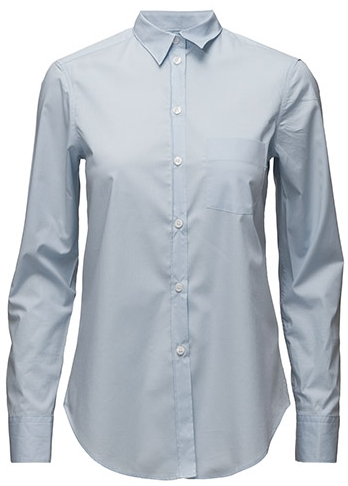 CLASSIC STRETCH SHIRT LIGHT BLUE  Filippa K