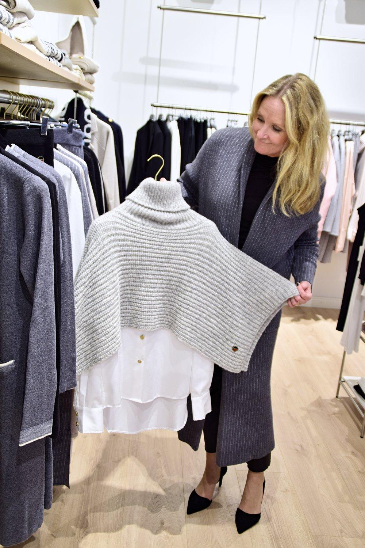 Poncho & Shirt, Busnel / My look; Caurel Coat, Busnel / Pants & Shoes, By Malene Birger / Polo, FilippaK