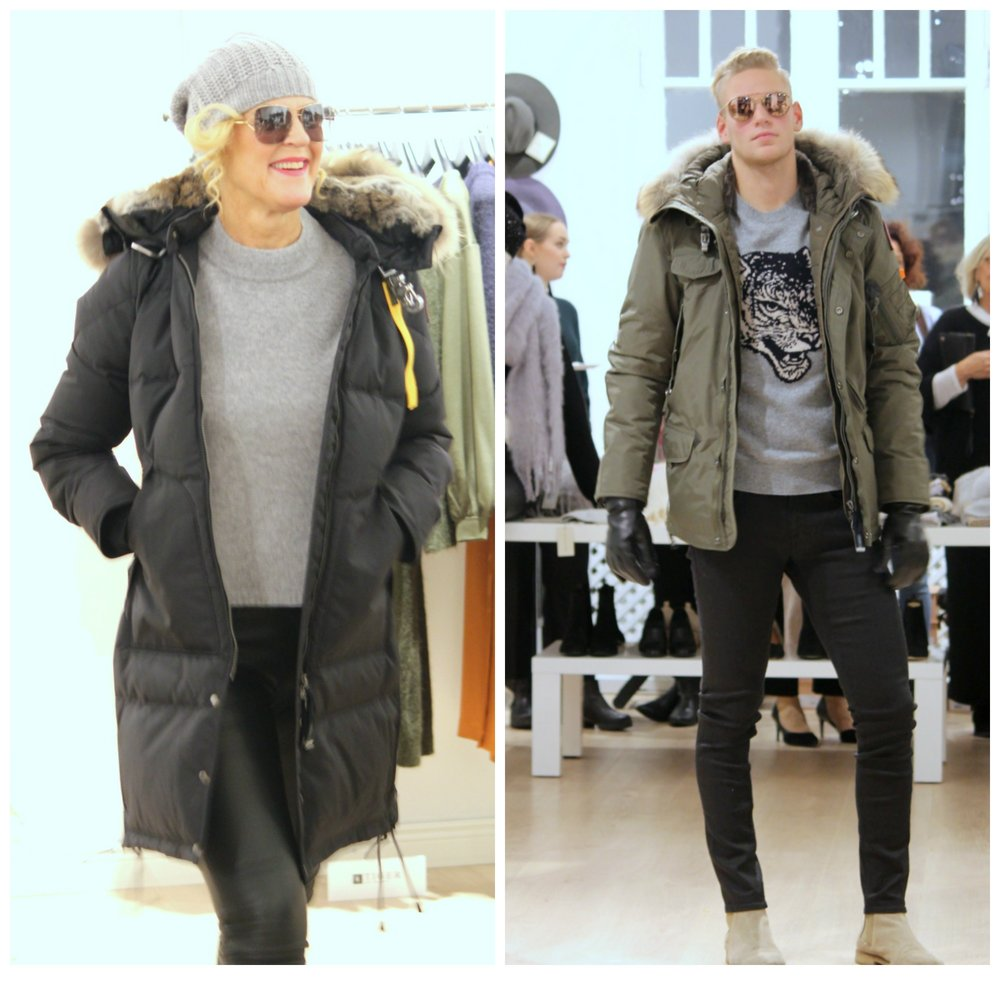 Parajumpers & Repeat Cashmere & Tiger of Sweden