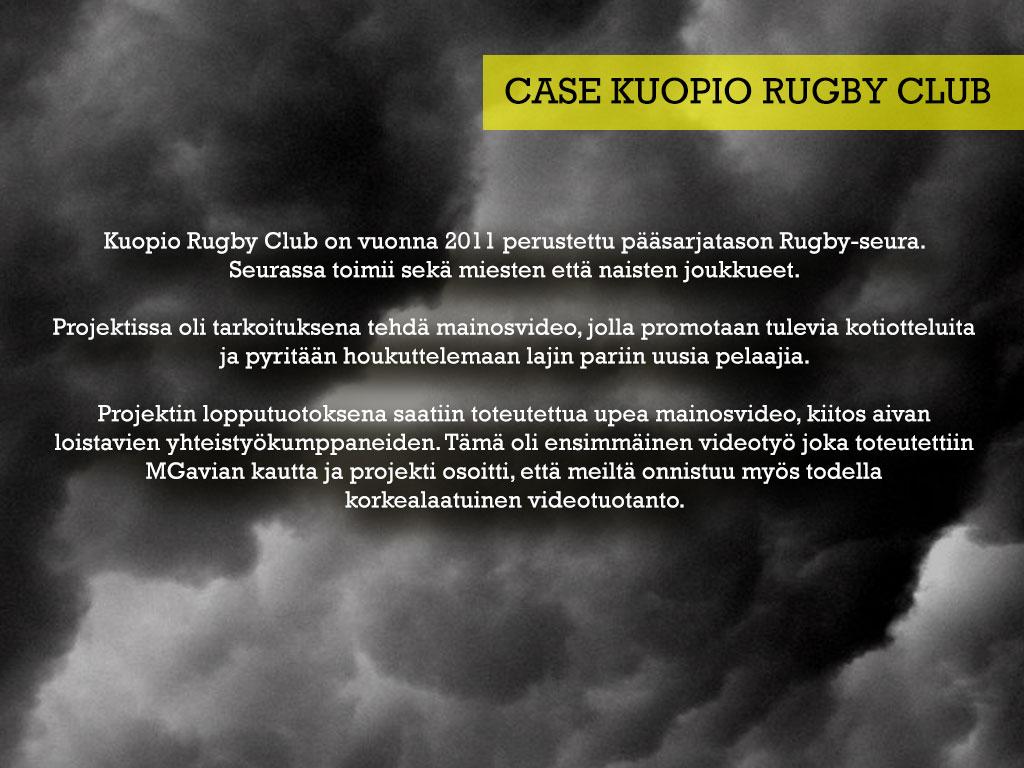 Kuopio Rugby Club — MGavia Designs fb6223d63e