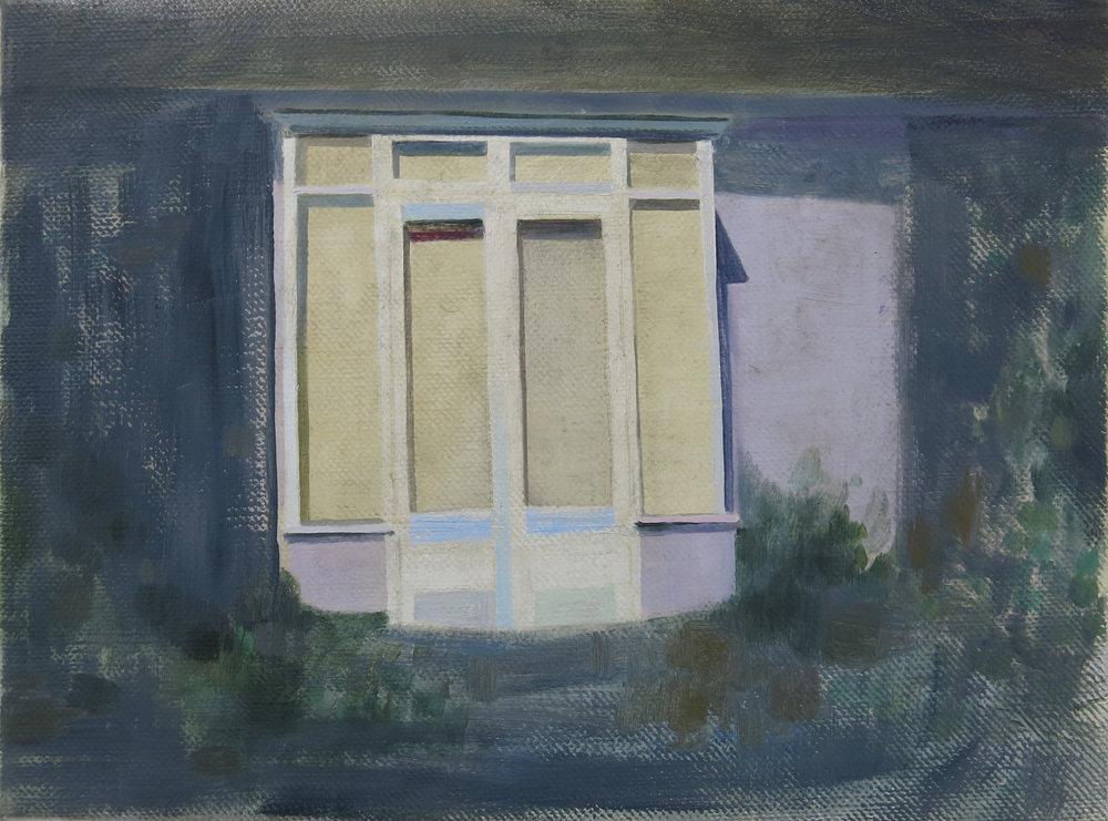 Verandah    2015. oil on canvas, 30 x 40cm