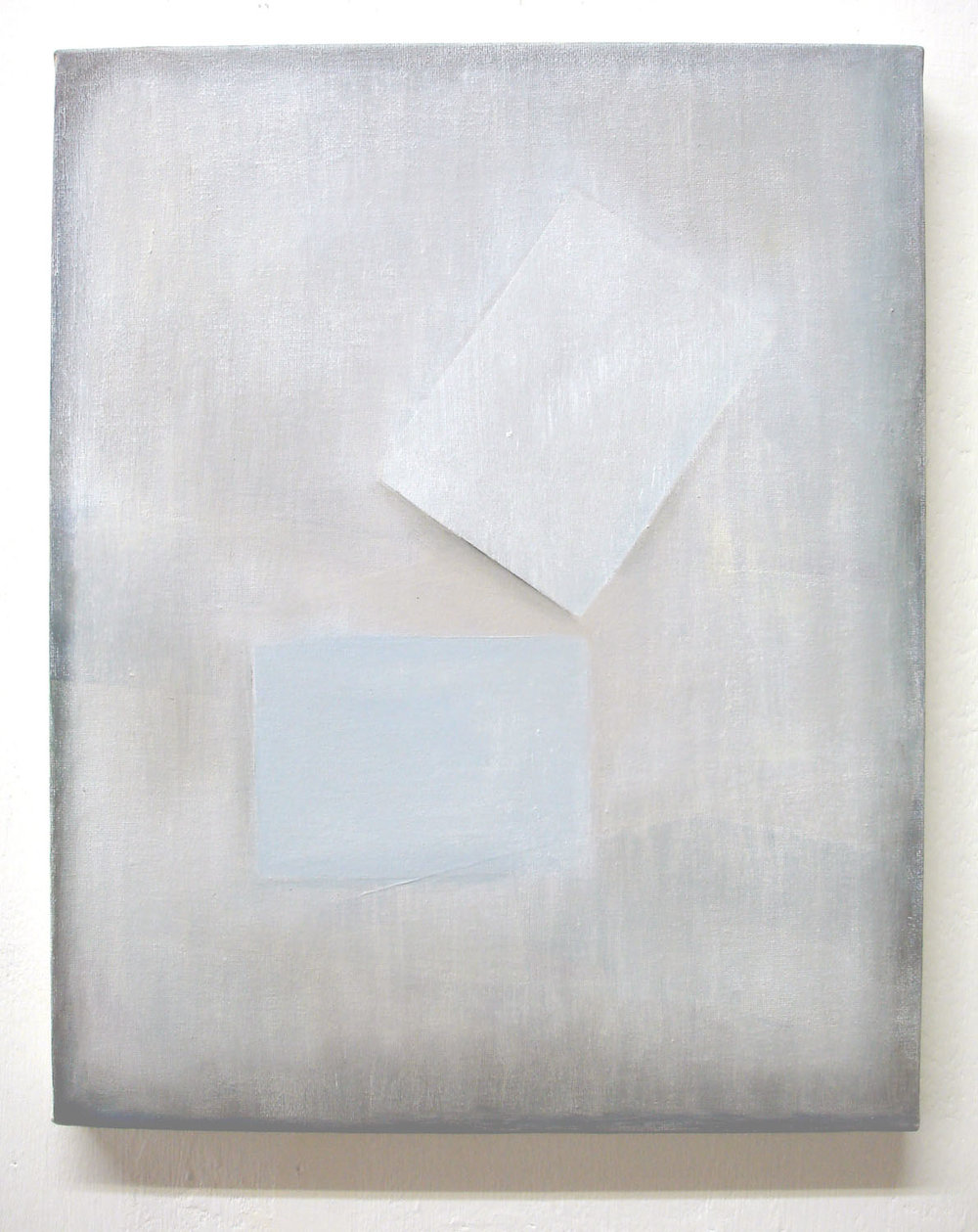 Paper & Whitewash    2011, oil on canvas