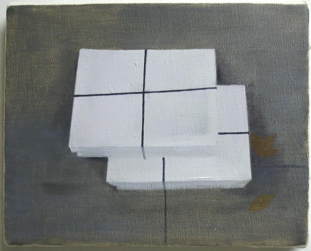 Bundles    oil on canvas