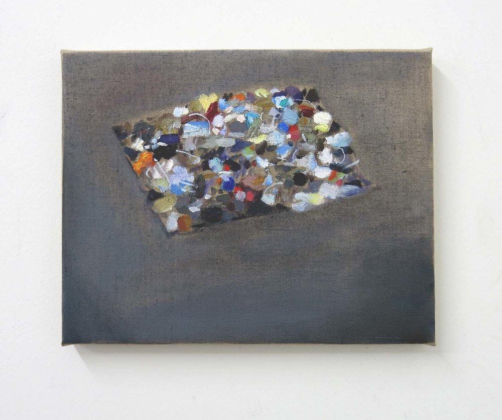 Bricka Brack    2017, oil on canvas, 19 x 24cm
