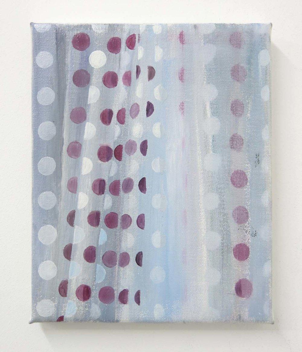 Double Curtain    2017, oil on canvas, 30 x 24cm