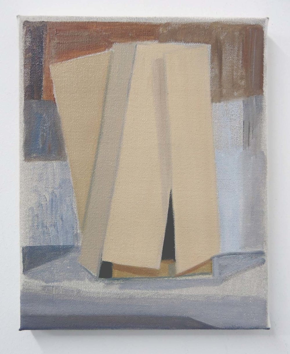 Wardrobe    2017, oil on canvas, 24 x 20cm