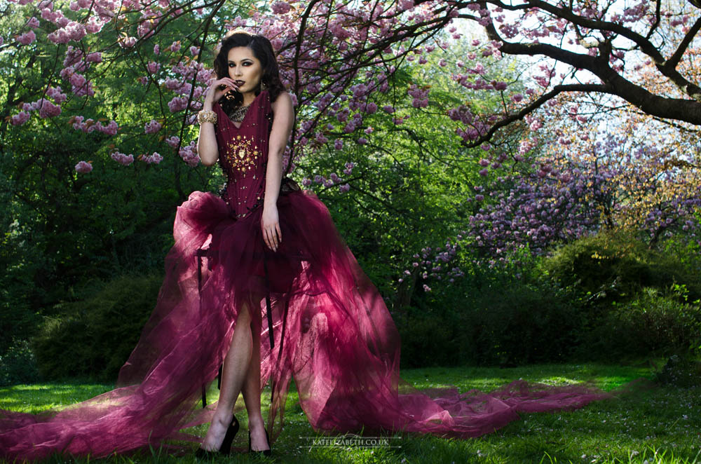 Sacred Hearts Corset   Photographer: Kate Elizabeth Photography  Model: Maz Ulvants