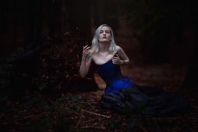 Valeria Corset  Photographer: Anjelica Hyde  Model: Holly Litha