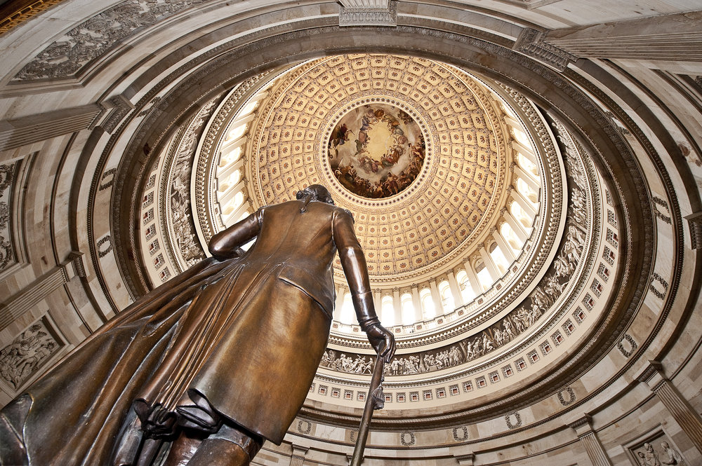 Capitol rotunda in the Capitol Building Washington DC USA for KLM Flying Dutchman-magazine
