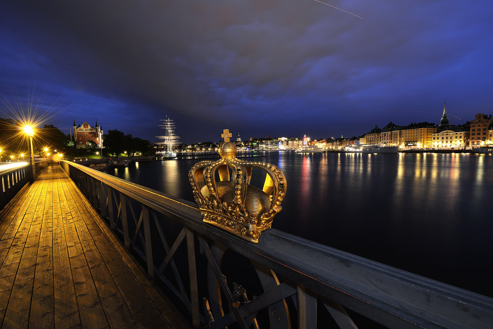 Skeppsholm Bridge Stockholm Sweden for LXRY-magazine